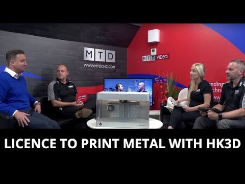 #SwarfandChips - Licence to print metal with HK3D - 01/09/2017 - EP44