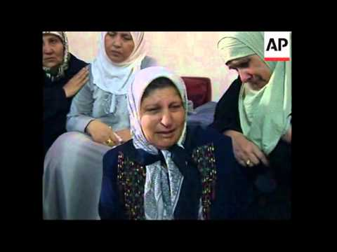 Families of Tel Aviv and WBank suicide bombers