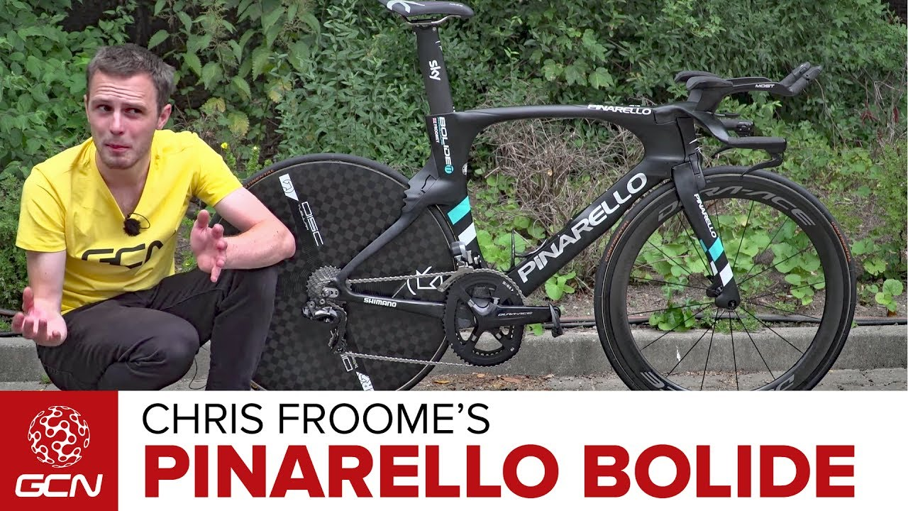 Chris Froome's Pinarello Bolide Time Trial Bike