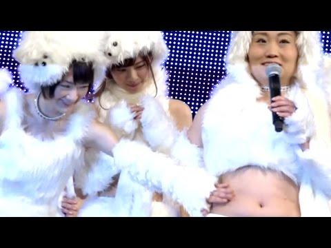 乃木坂46 生駒里奈、キンタロー。のお腹をプニプニ 『ギガ学割CMソングお披露目イベント』