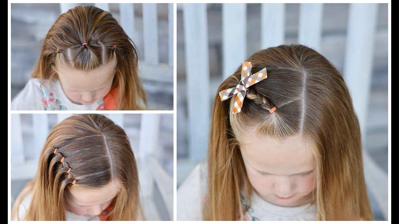 3 easy school day hairstyles