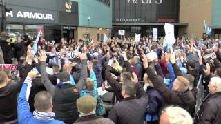 Coventry City Supporters Protest at Ricoh Arena 22 October 2016