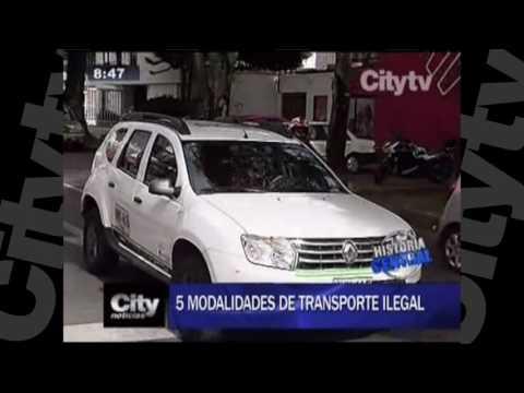 Transportes piratas han sido inmovilizados este año en Bogotá | City Tv |Julio 8