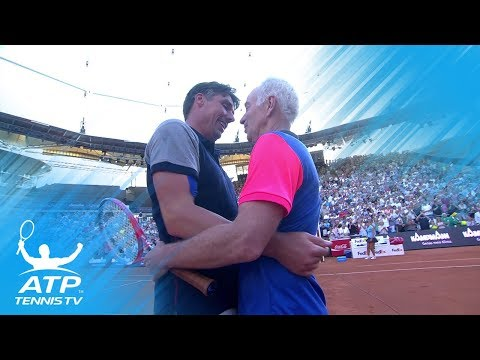 Michael Stich vs John McEnroe: Hamburg 2018 Exhibition Match Highlights