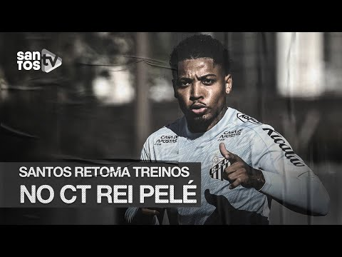 BOLA ROLANDO! #SANTOS RETOMA TREINOS NO CT