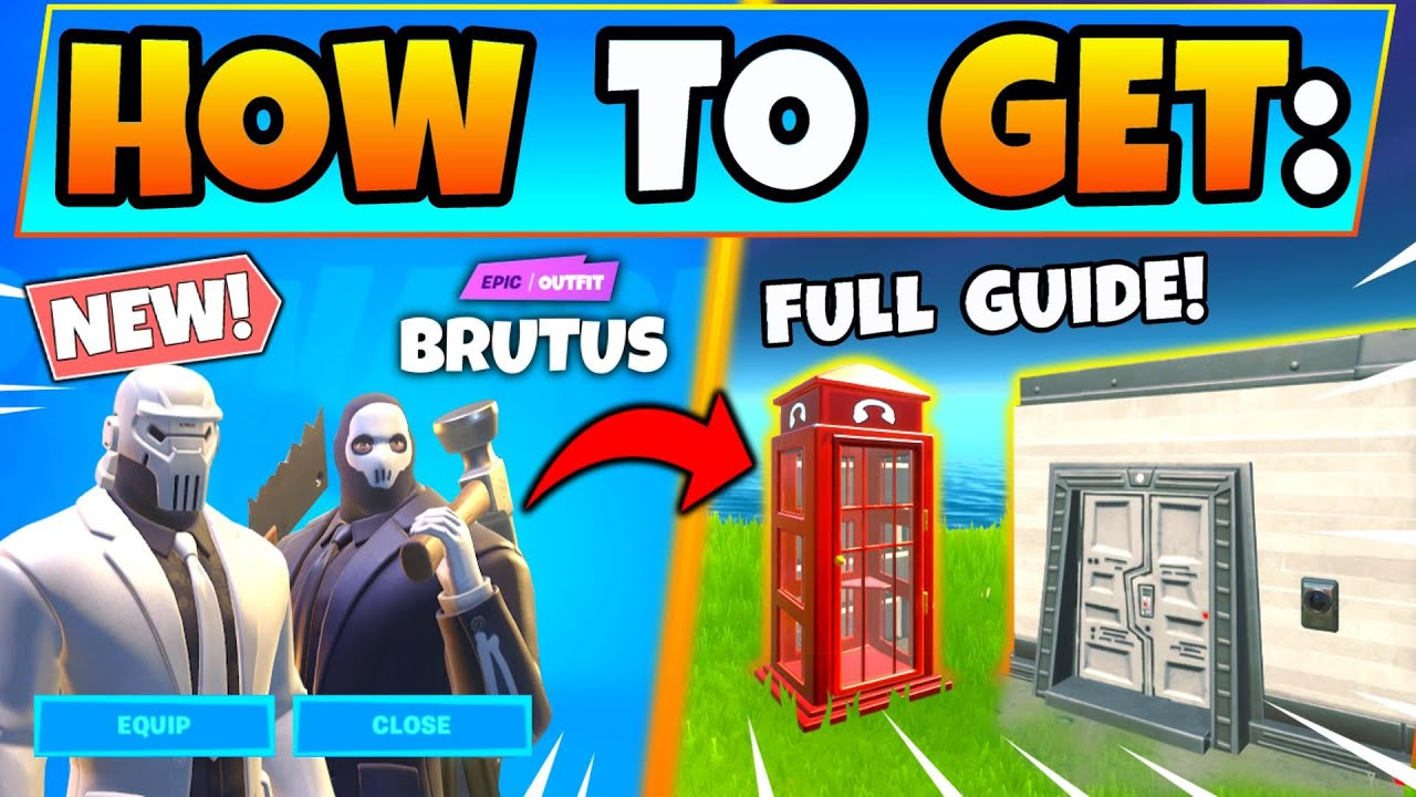 Fortnite Brutus Briefing Challenges Shadow And Ghost Id