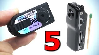5 КРУТЫХ ШПИОНСКИХ КАМЕРЫ С ALIEXPRESS + Конкурс(Подборка из 5 крутых шпионских #видеокамеры с Алиэкспресс Ссылки: ✓ мини