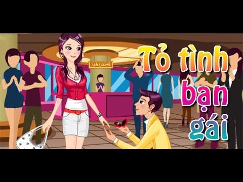 Game tỏ tình bạn gái 8/3 - Video hướng dẫn chơi game 24h