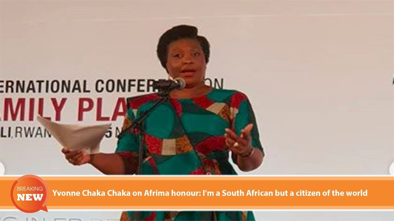 Hot new: Yvonne Chaka Chaka on Afrima honour: I'm a South African but a citizen of the world