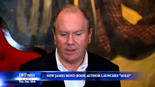 New James Bond Book Author, William Boyd Launches Solo
