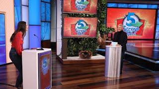 Ellen Puts a Fan Under Pressure in '5 Second Rule'