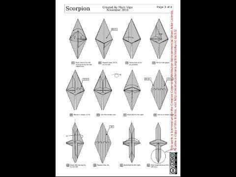 Origami Scorpion Marc Vigo