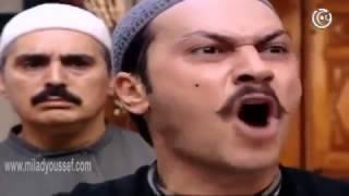 ميلاد يوسف   فضيحة ابو عصام نومه في الدكان  مسلسل باب الحارة 2   Milad Youssef