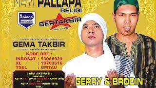 Gambar cover Gema Takbir  - Gerry Mahesa & Brodin - New Pallapa [Official]
