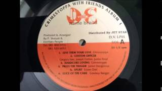 Gregory Isaacs, Junior Frost & Joseph Cotton - Custom Officer
