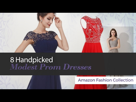 8 Handpicked Modest Prom Dresses Amazon Fashion Collection