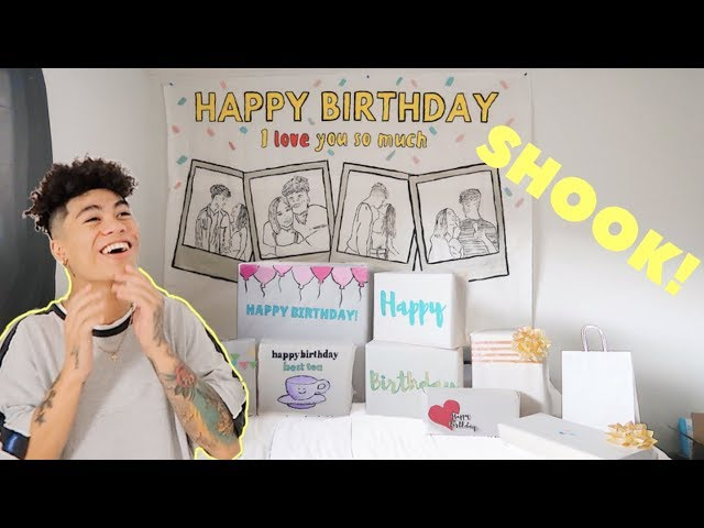 HOW I PLANNED MY BOYFRIENDS BIRTHDAY  (vlog/diy)