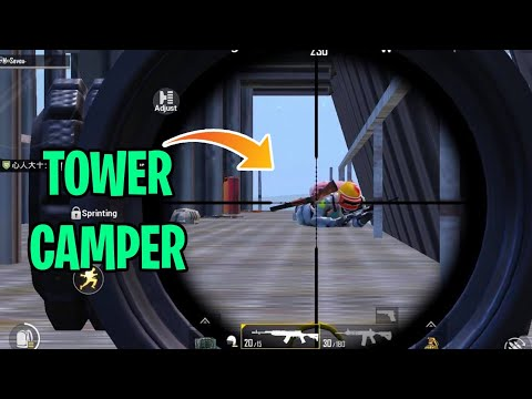 Tower Campers? DO THIS!!! | PUBG Mobile
