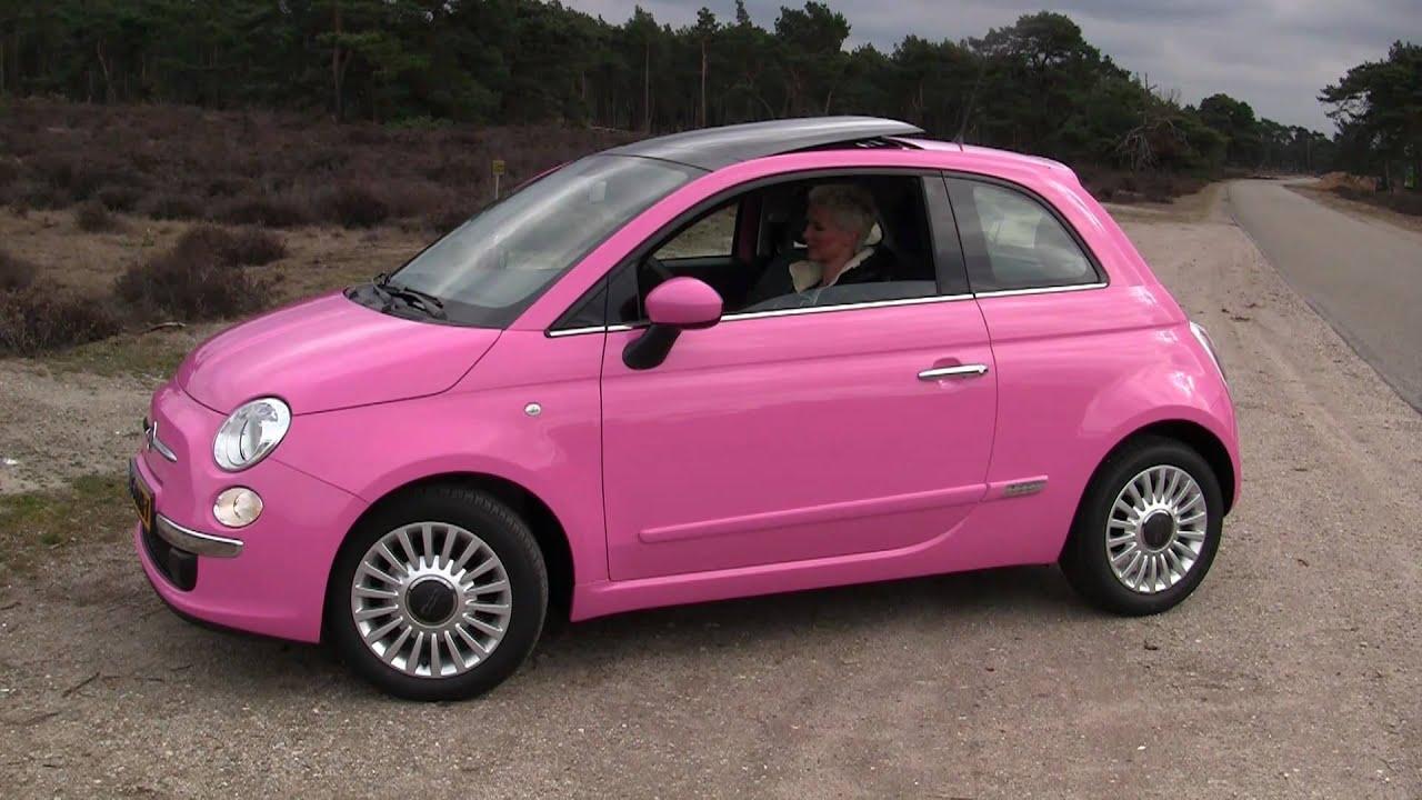 fiat 500 rosa van marlous canon full hd youtube. Black Bedroom Furniture Sets. Home Design Ideas