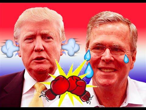 Donald Trump vs. Jeb Bush