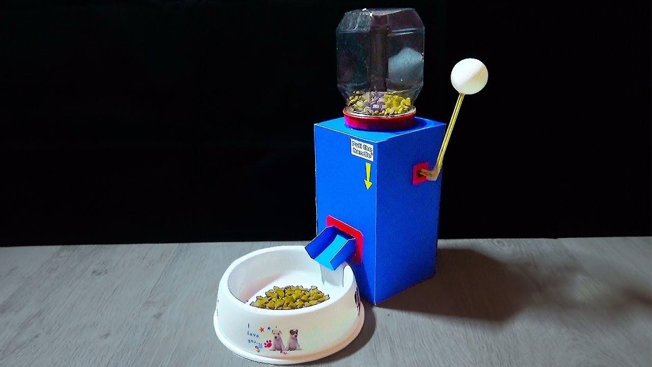 Dog Treat Dispenser >> How to make a Dog Food Dispenser - DIY Dog Food Dispenser ...