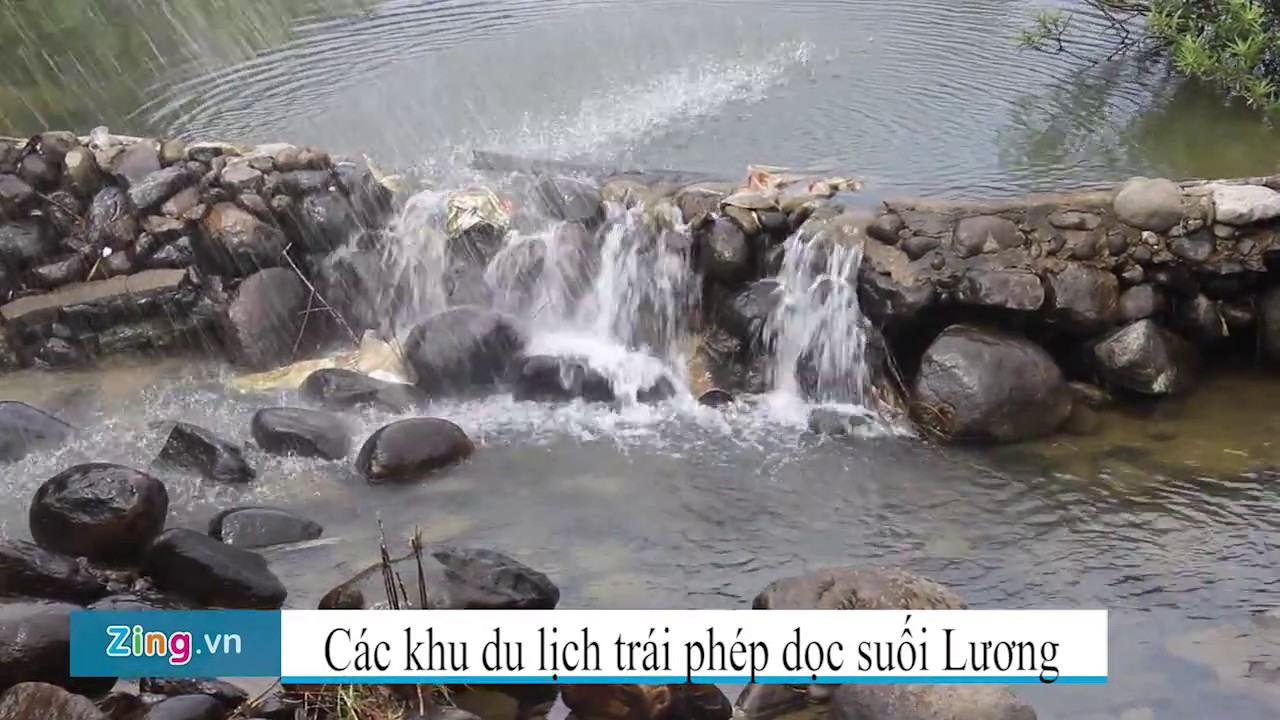 Các khu lịch không phép tại suối Lương- TP Đà Nẵng