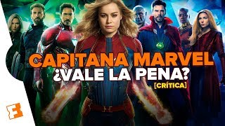 Crítica a 'Capitana Marvel': ¿Obra maestra o desastre total?