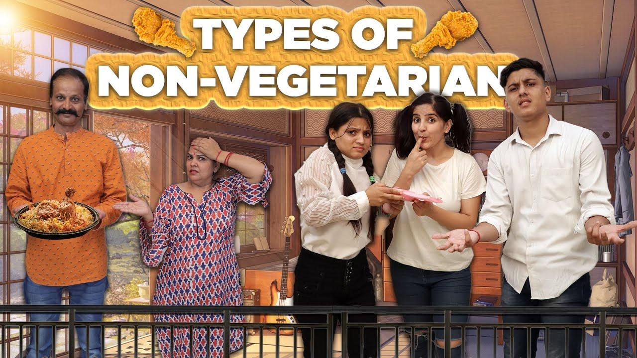 Types of Non Vegetarians | Sushma Chhikara | Aashish Bhardwaj