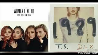 Little Mix,Nicki Minaj VS Taylor Swift - Shake Like Me Off (Mashup)