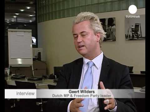 interview - Geert Wilders, leader of the Freedom Party in the Netherlands