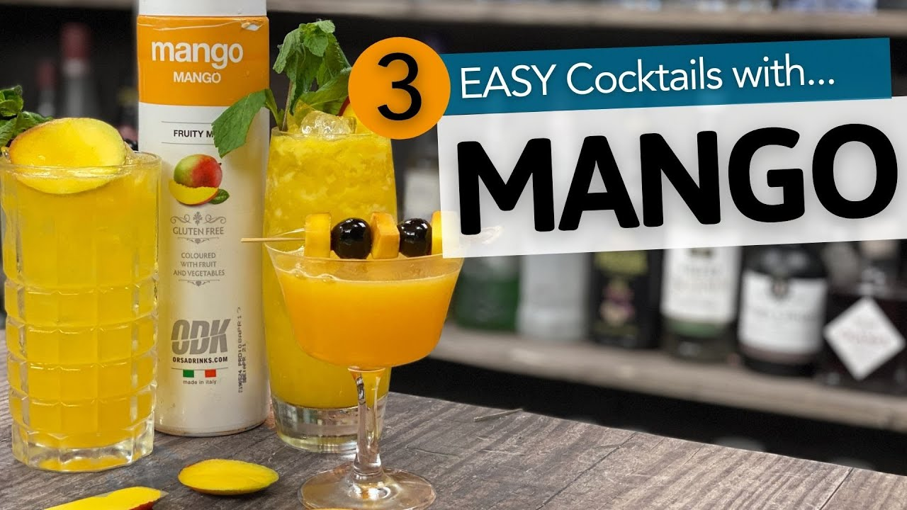 how to make mango puree for cocktails