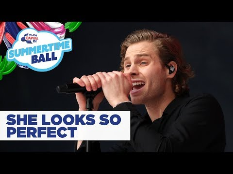 5SOS – 'She Looks So Perfect'   at Capital's Summertime Ball 2019
