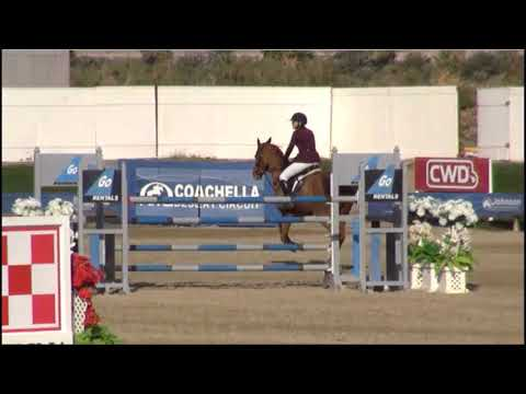 Vancouver 45 and Michelle Parker - $70,000 Grand Prix Jump-off - HITS Coachella 2018 week 1