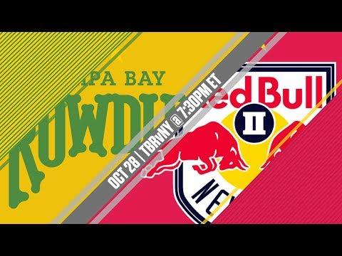 2017 #USLPLAYOFFS - Tampa Bay Rowdies vs New York Red Bulls II 10/28/17