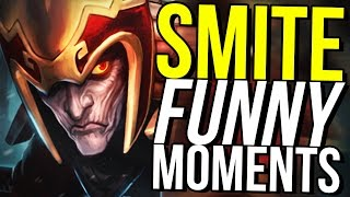 5 MAN LOKI TEAM RAGE! (Smite Funny Moments)