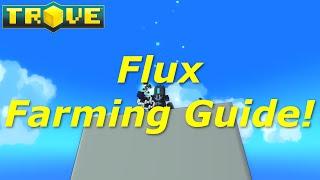 [Trove] Flux Farming Guide(Tutorial)! Fastest Methods to Farm Flux! 3k+ Flux/Hr
