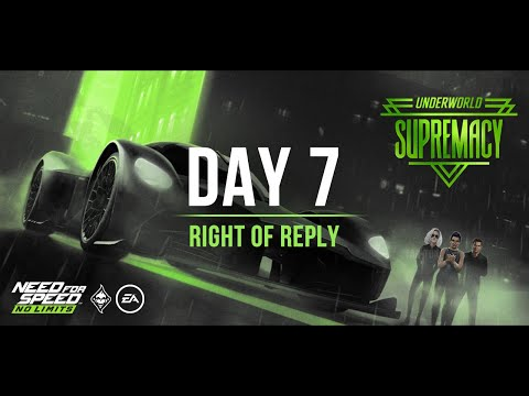 Underworld: Supremacy (Aston Martin Valkyrie) – Day 7 (Right of Reply) + Modshop   NFS:NL – SE Guide