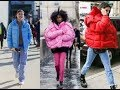 the best puffer coat street style
