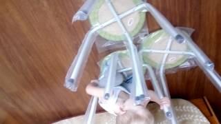 Как сделать маленький замок из стульев