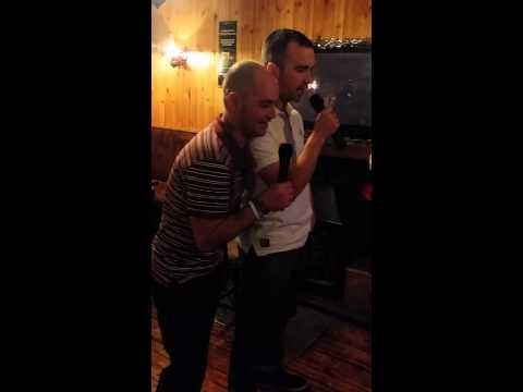 Terrible karaoke singing