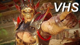 Mortal Kombat 11 - Трейлер Шао Кана на русском - VHSник