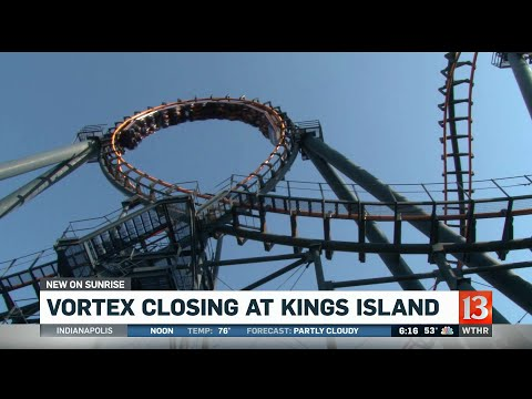 Temple - Vortex Roller Coaster At Kings Island Is Closing