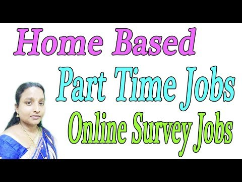 Home Based Part Time Jobs | New Online Survey Jobs in Tamil