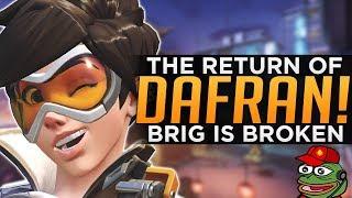 Overwatch: The Return Of DAFRAN! - Brigitte Is Broken