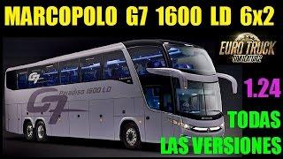 EURO TRUCK SIMULATOR 2 | MARCOPOLO G7 1600 LD 6x2 | Vr. 1.21.x - 1.24.x | DOWNLOAD