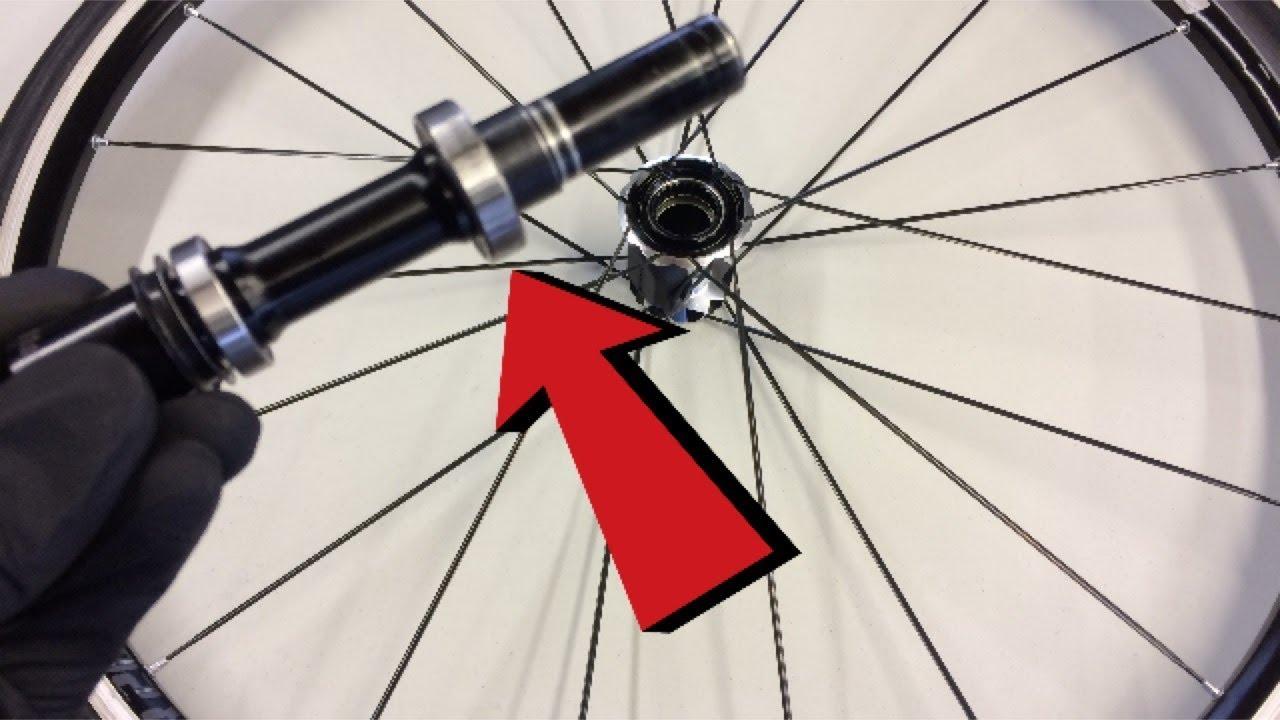 DT Swiss Road Rear Wheel Bearing Change