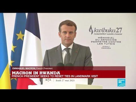 Download REPLAY: France's Macron recognises 'responsibility' in Rwanda genocide