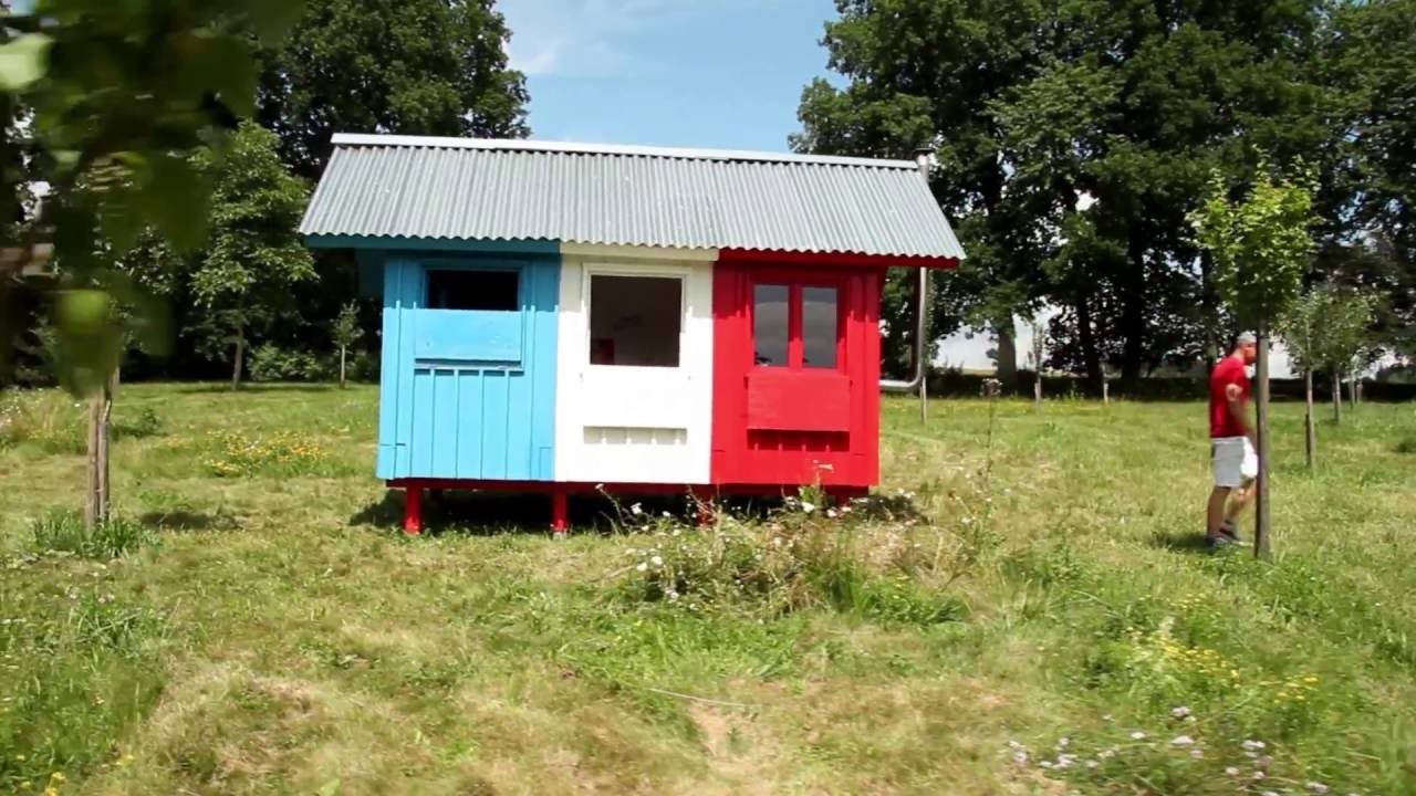 France Prefab Tiny House by Pin-Up Houses