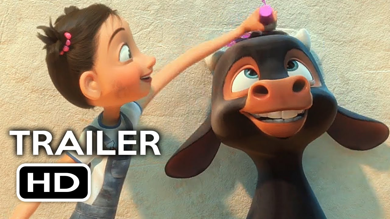 ferdinand offiical trailer 2 2017 john cena animated movie hd
