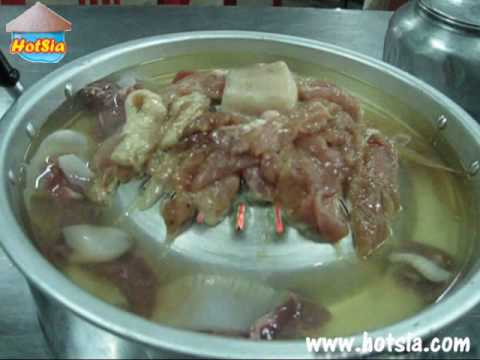 เจนเนื้อย่างเกาหลี หมูกะทะ